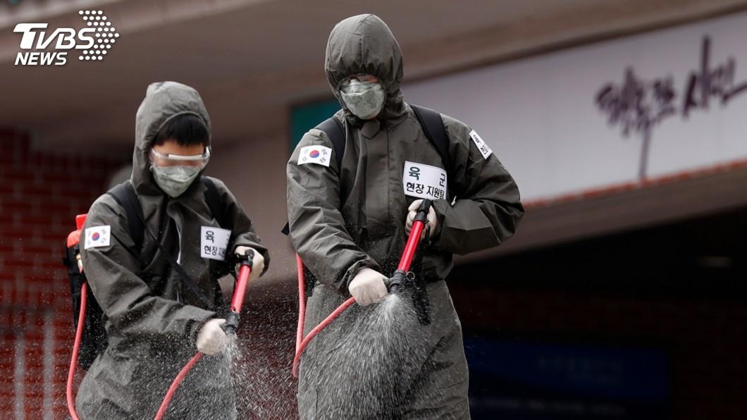 圖/達志影像路透社 首爾再度出現武漢肺炎群聚感染 至少34例確診