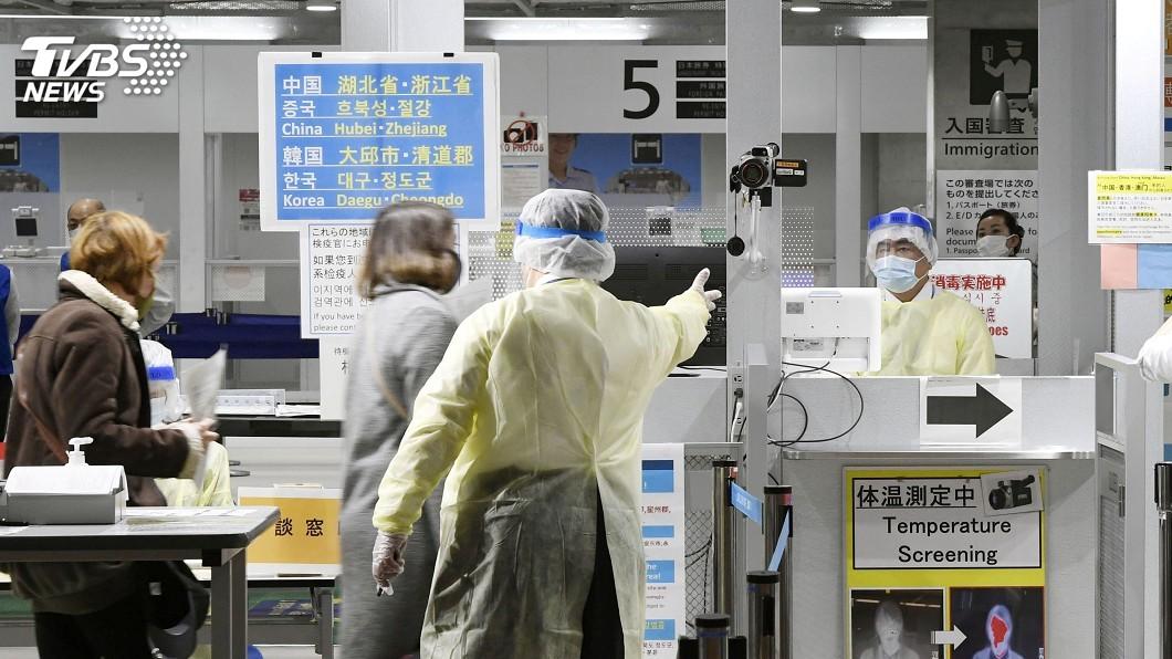 圖/達志影像路透社 防武漢肺炎疫情擴大 日敲定緊急事態宣言法案
