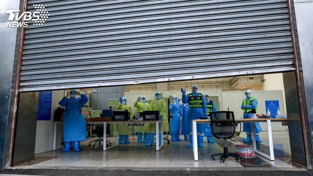 圖/達志影像路透社 35天收1.2萬名病患 武漢14家方艙醫院全部休艙