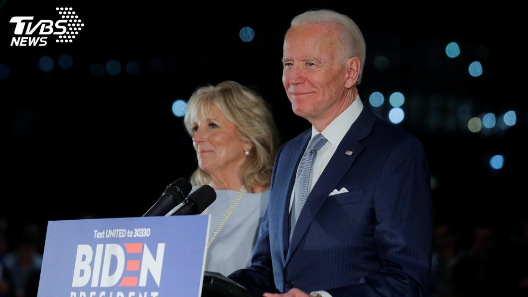 圖/達志影像路透社 密西根等4州初選大勝 拜登披民主黨戰袍指日可待