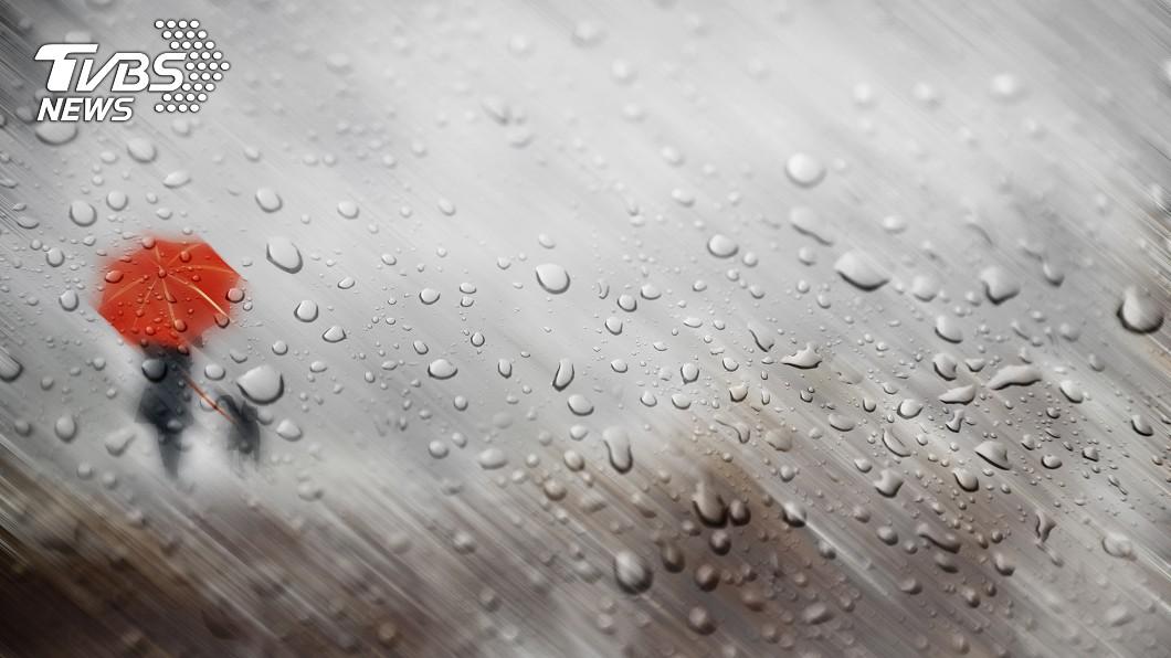 示意圖/TVBS 雨區擴大!北北基桃等16縣市豪、大雨特報