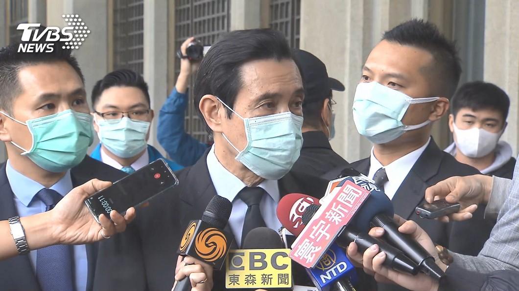 (前總統馬英九。圖/TVBS) 江啟臣遭嗆無能亡黨 馬英九信心喊話:能贏回執政