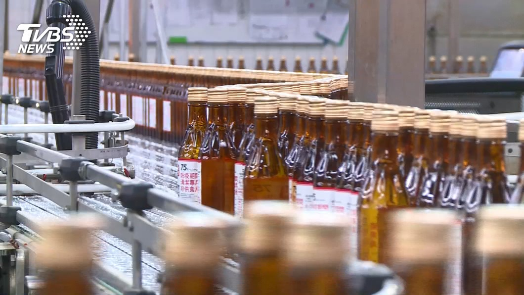 圖/TVBS 酒精納入防疫物資 蘇建榮:將向疫情中心提建議