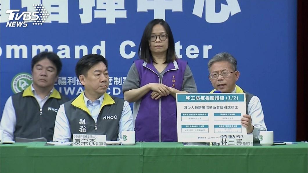 圖/TVBS 移工防疫若取消回國休假 勞動部補貼機票費用