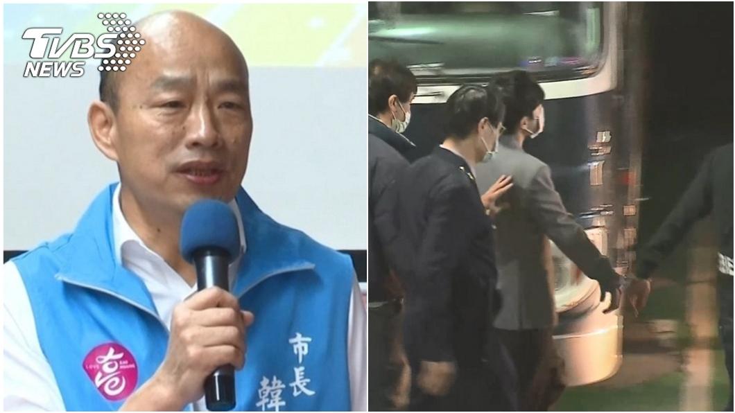 高雄市長韓國瑜談新店隨機殺人事件。(圖/TVBS資料畫面) 直播談新店隨機殺人 韓國瑜:5種人絕對不能原諒