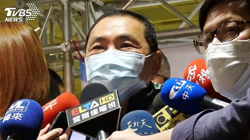 圖/中央社 侯友宜建議總統發布「緊急命令」 提升疫情戰備