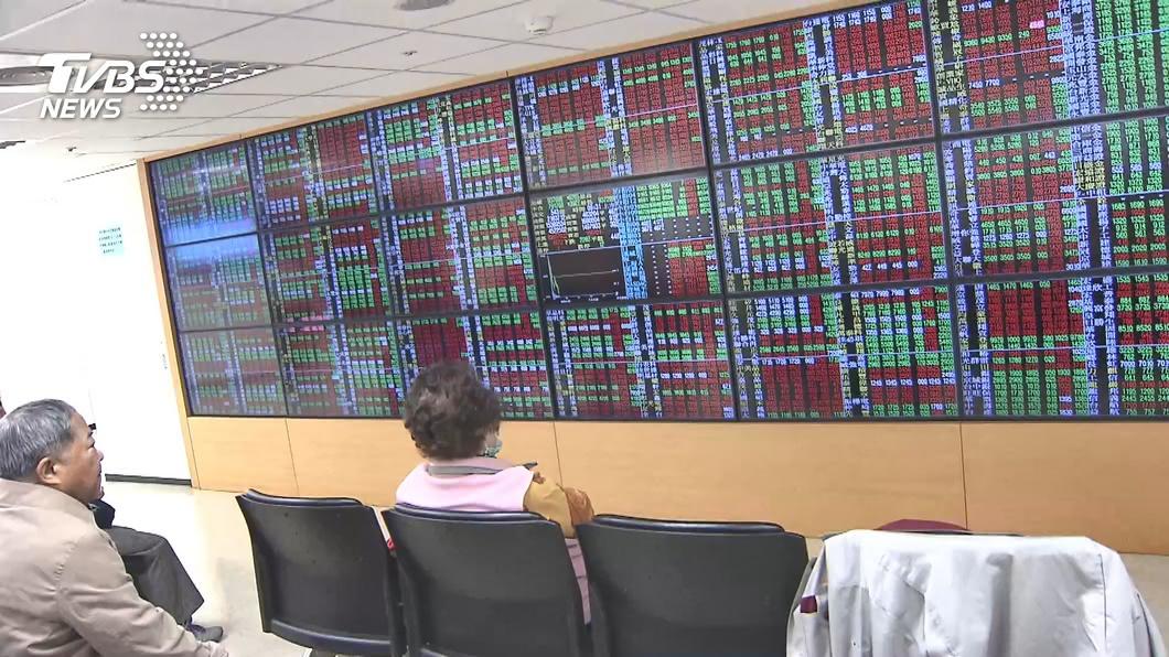(圖/TVBS資料畫面) 台積電奔漲停 台股盤中維持高檔震盪
