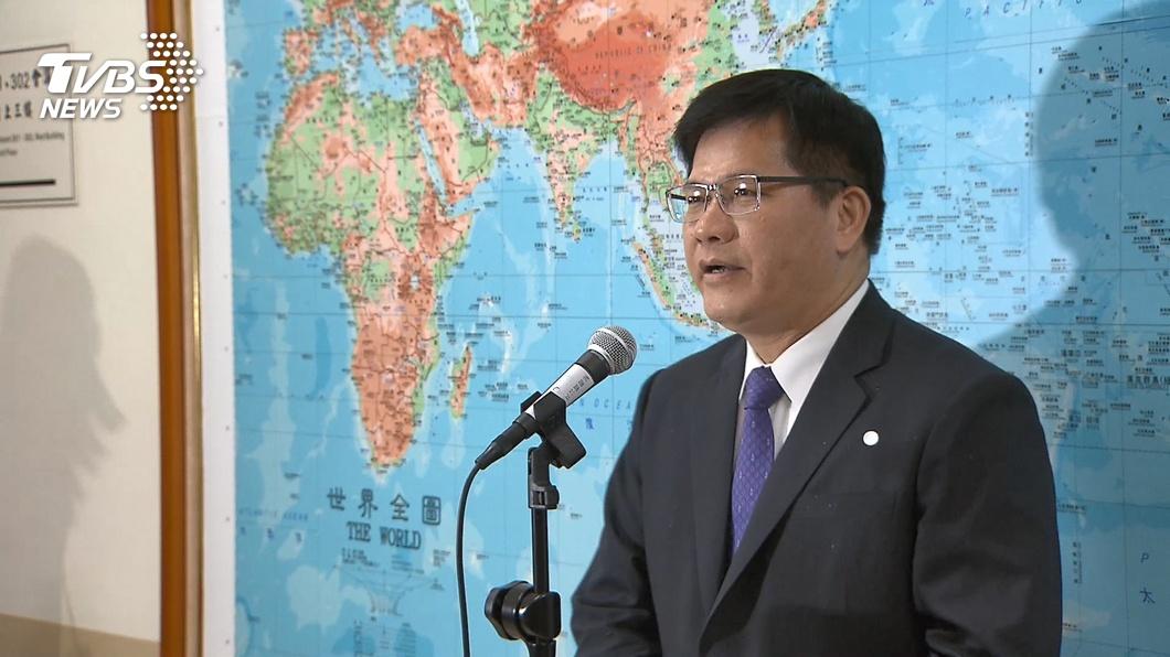 交通部長林佳龍。(圖/TVBS資料畫面) 心疼觀光局染疫員工 林佳龍轟假公濟私:該檢討的是他