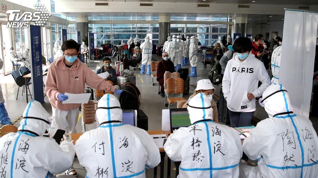 圖/達志影像路透社 政策性「軟封關」 中國全面阻絕境外疫情輸入