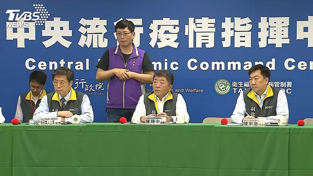 圖/TVBS 南部20多歲女性感染源不明 將採檢美國回台親友