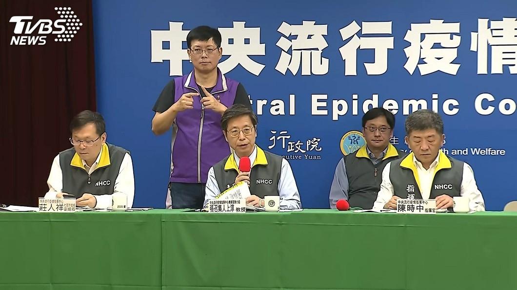 圖/TVBS 台灣武漢肺炎個案6成屬輕症 已26人痊癒