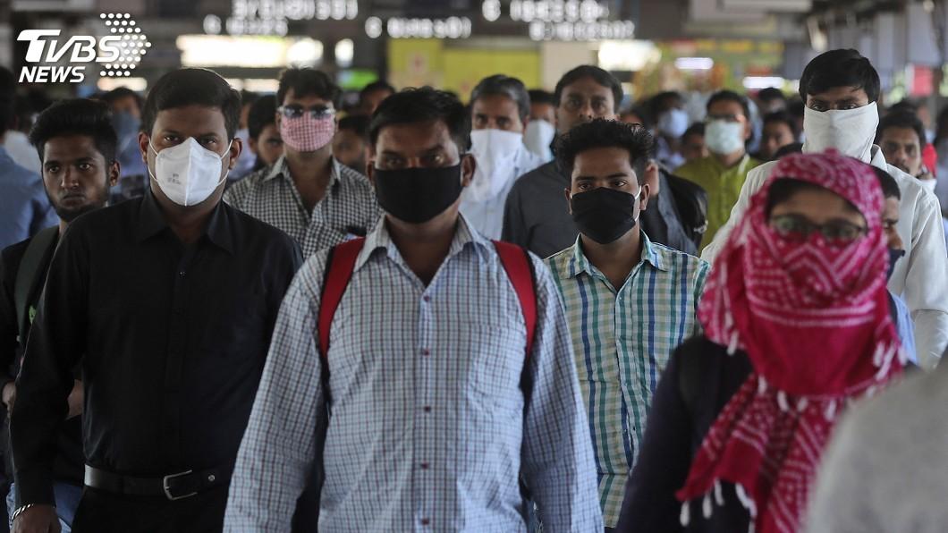 圖/達志影像美聯社 遏阻疫情做好備戰 印度22日施行全民禁足令
