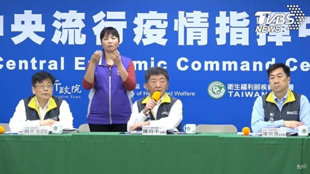 對於台灣若封城會採取哪些措施?中央流行疫情指揮中心指揮官陳時中今給予回應。(圖/TVBS) 疫情升溫台灣是否封城? 陳時中曝「SOP」