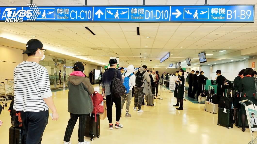 (圖/中央社資料照) 桃機轉機旅客數增加 東南亞往返美加最多