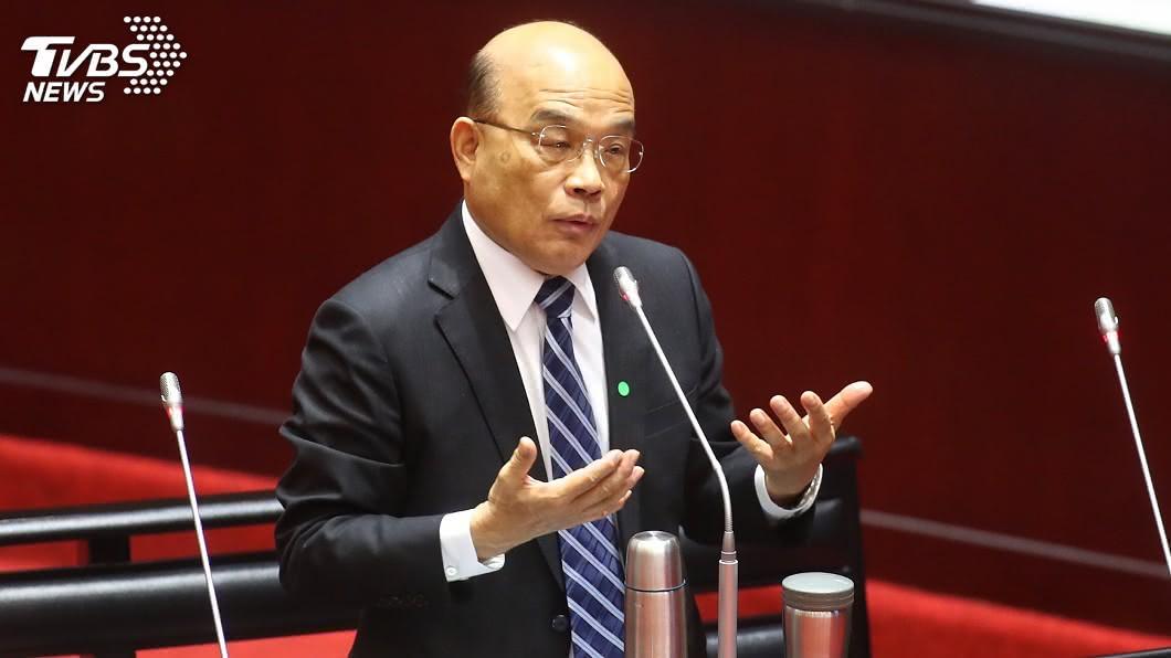 行政院長蘇貞昌。(圖/中央社資料照) 追加紓困預算2千億遭質疑 蘇貞昌:沒現在哪有未來