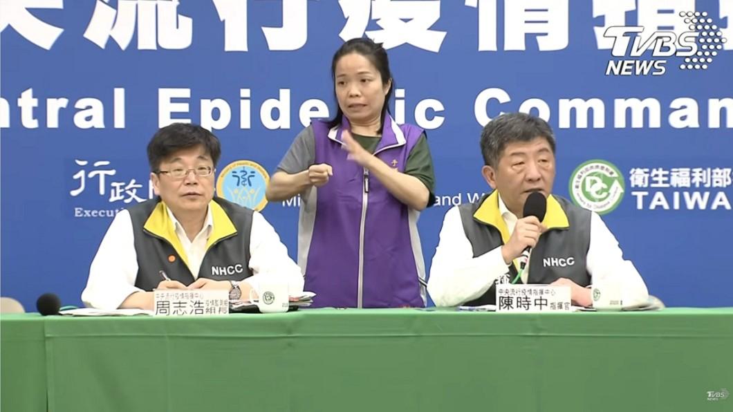 陳時中在24日記者會證實,去年底就曾警告WHO (圖/TVBS) 台灣12/31示警WHO!陳時中:對方只說「收到了」
