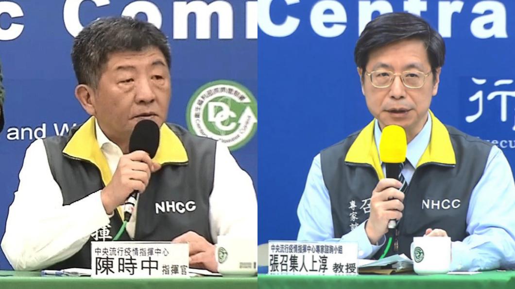(圖/TVBS) 張上淳自責退出團隊?他曝陳時中一句話「霸氣挽留」