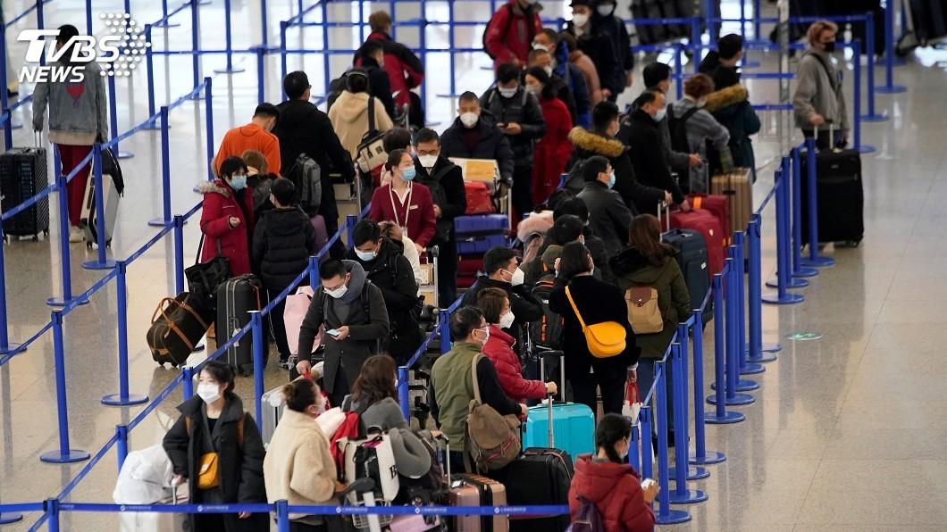 圖/達志影像路透社 上海新增19起境外移入確診 3人曾在台轉機
