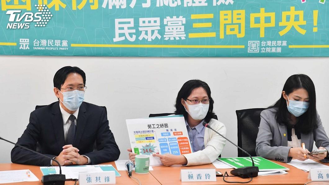 圖/中央社 檢討紓困條例 賴香伶:許多無薪假勞工沒獲援助