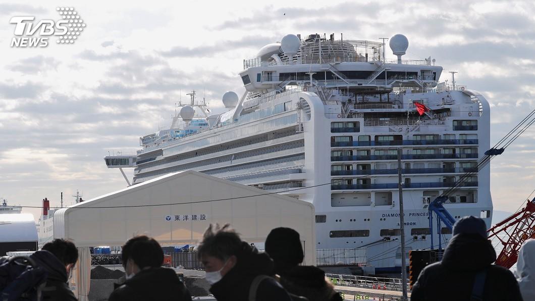 圖/達志影像路透社 挑戰全美最長隔離期 鑽石公主號乘客視為禮物