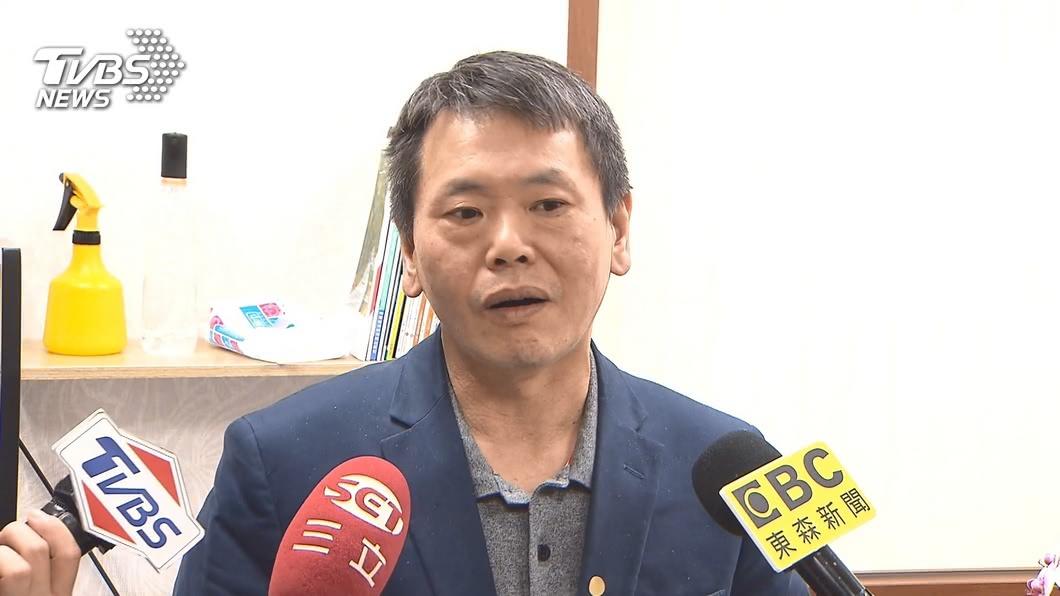 國民黨立法院黨團總召林為洲。(圖/TVBS) 罷韓投票倒數 林為洲:即使被罷也要做到最後一天