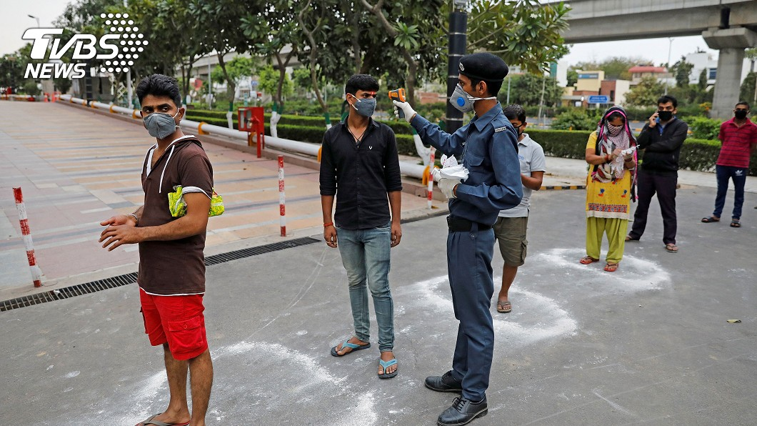 圖/路透社 全球最狂封國! 印度13億人口21天禁足令