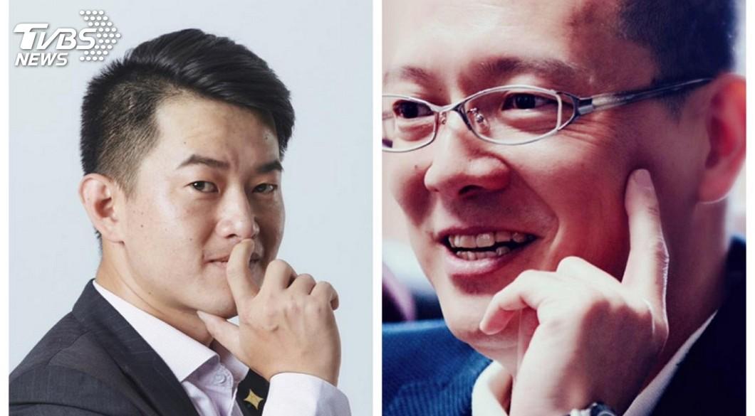 左:陳柏惟、右:孫大千。(圖/TVBS) 孫大千籲「罷Q」 酸陳柏惟「至少要有IQ吧」