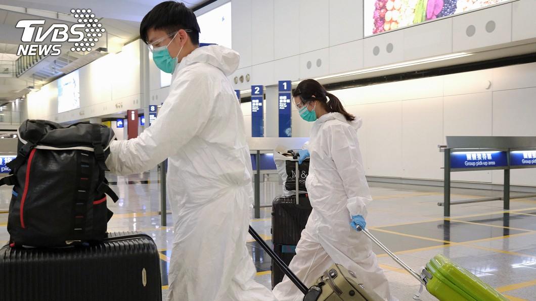 圖/路透社 快訊/香港今新增43例確診 29人有境外旅遊史