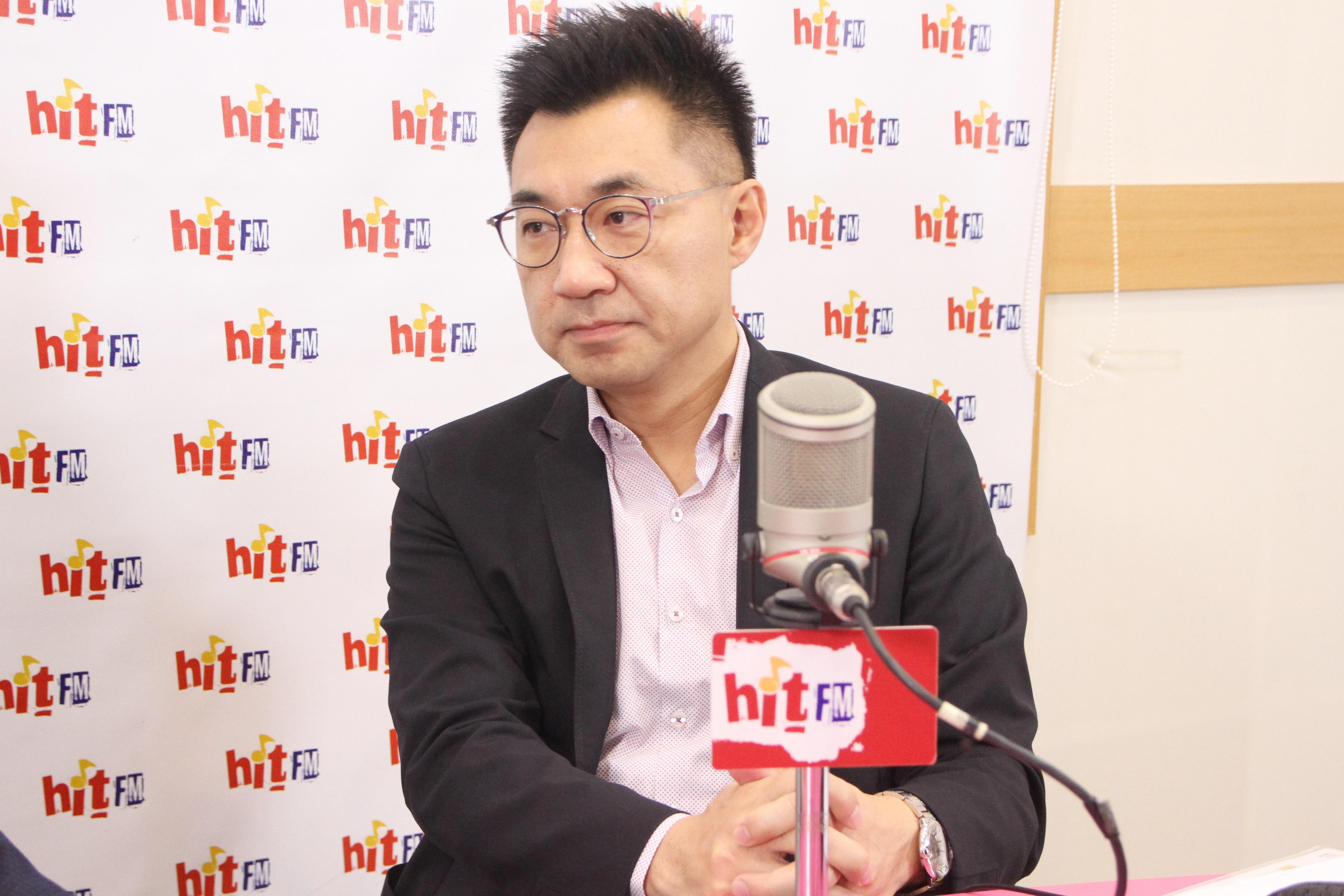 Hit Fm《羅友志嗆新聞》製作單位提供 點名吳斯懷「負面聲量高」 江啟臣:恐把國民黨帶歪