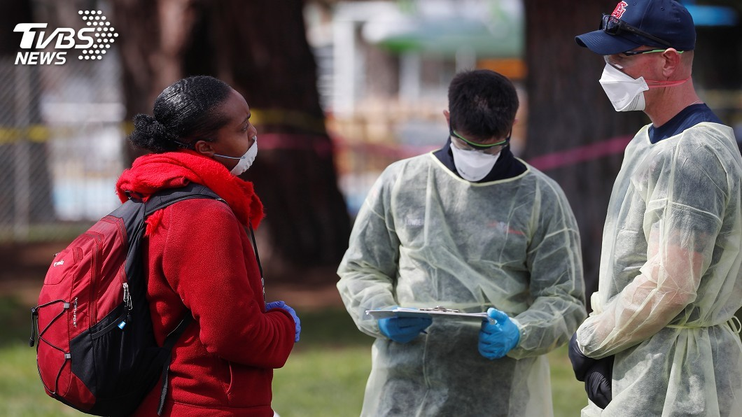 圖/達志影像路透社 美國疫情6月前難趨緩 未來4月恐奪逾8萬命