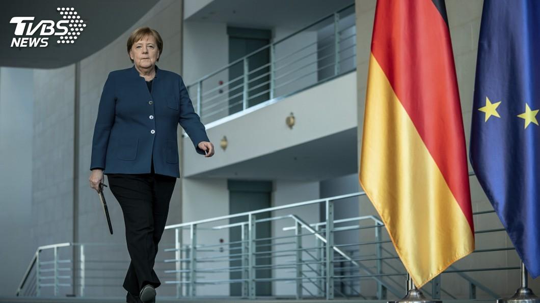 圖/達志影像美聯社 抗武漢肺炎危機 梅克爾反對歐盟發行「冠狀債券」