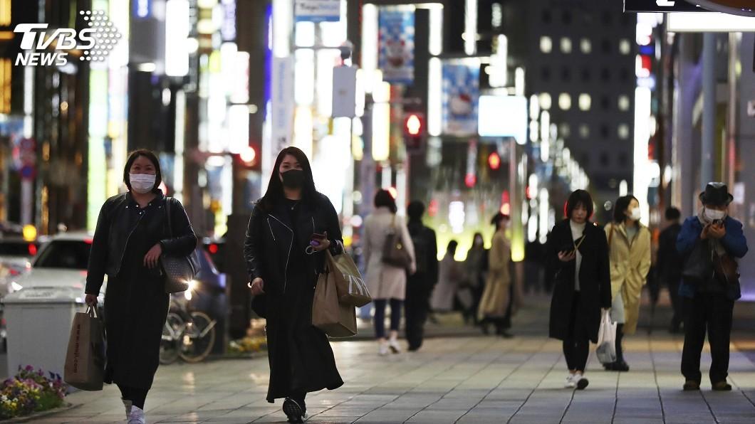 圖/達志影像美聯社 日本武漢肺炎1402例 東京259例疫情最嚴重
