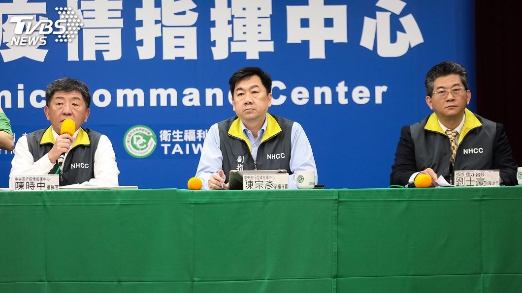 圖/中央流行疫情指揮中心提供 第3批湖北包機上海起飛 陳時中:方便性考量