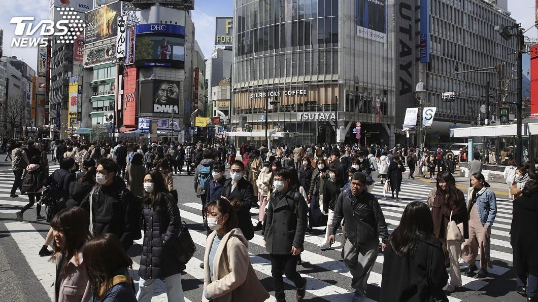 圖/達志影像美聯社 東京確診病例快速增加 安倍:若封城將重創日本經濟