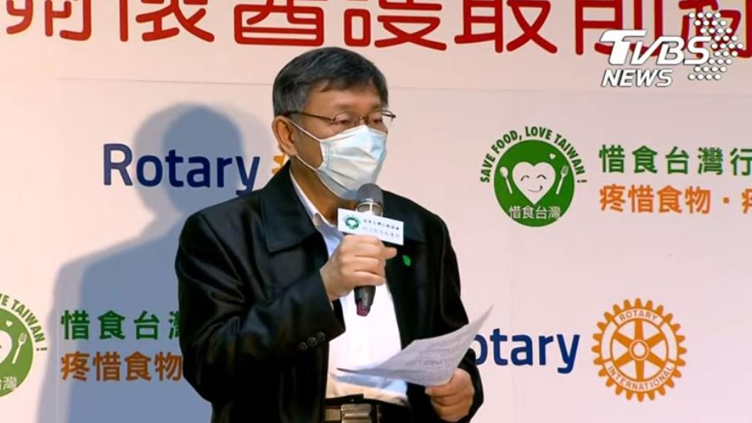 (台北市長柯文哲。圖/TVBS) 慢慢擴散 柯文哲點名「4區」:疫情還會拖很久
