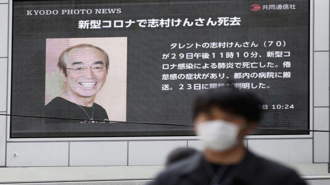 圖/達志影像路透 東京三月激增400例!綜藝天王志村健染疫病逝