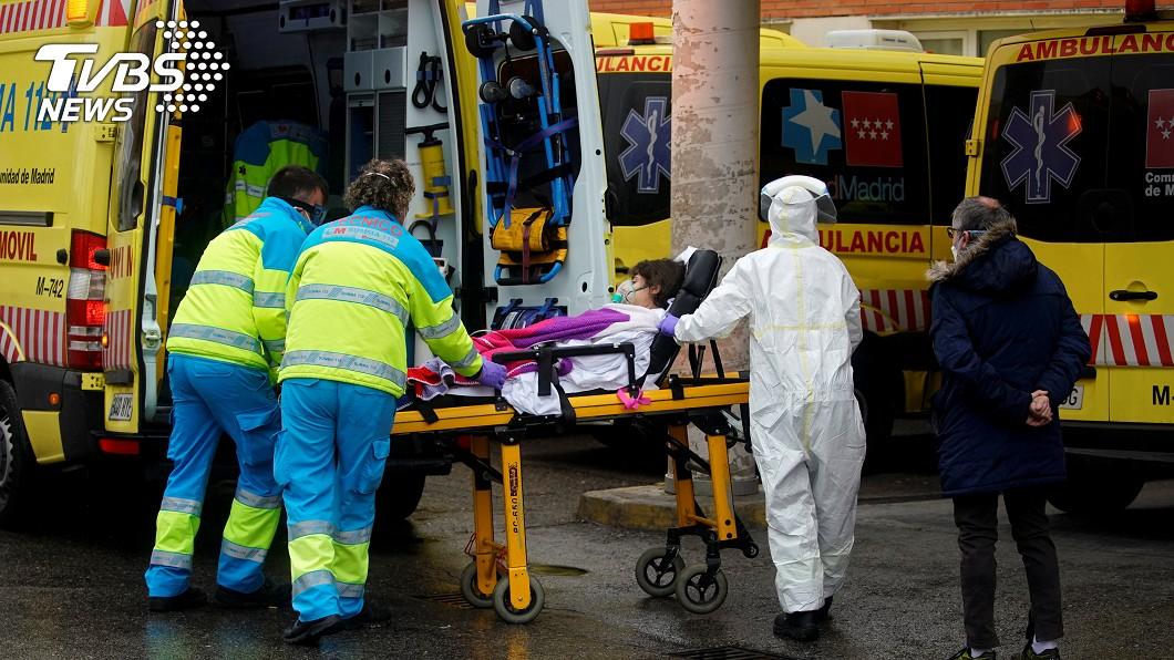 快訊/西班牙新增近萬例 單日死亡849人破紀錄