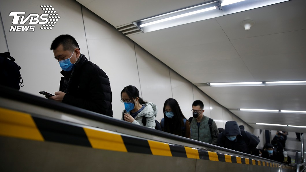 圖/達志影像路透社 中國:4/1起疫情通報增加無症狀感染者情況