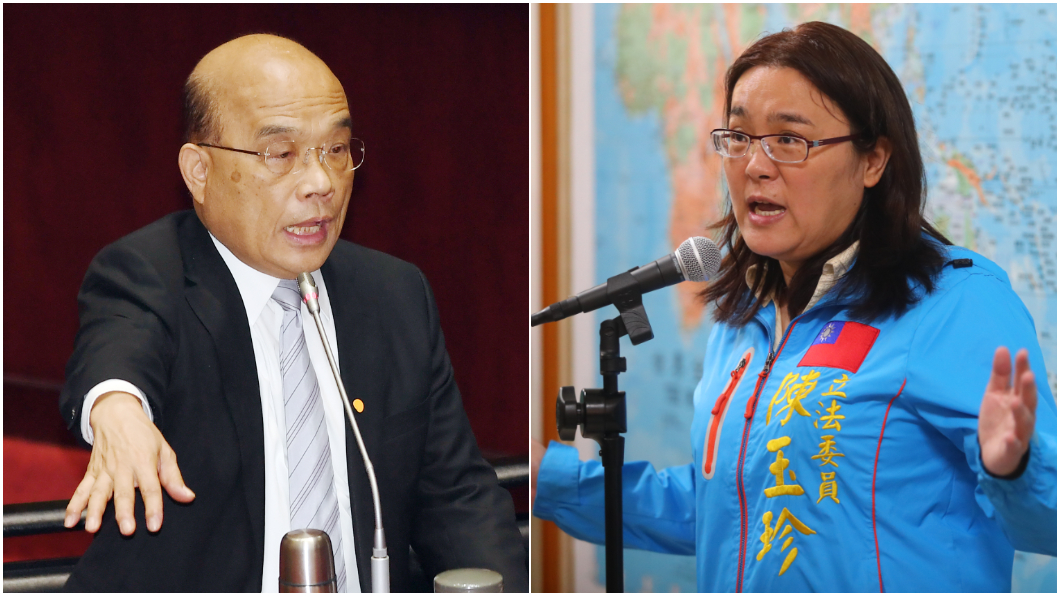 蘇貞昌轟陳玉珍沒資格當立委 國民黨團譴責:立即道歉