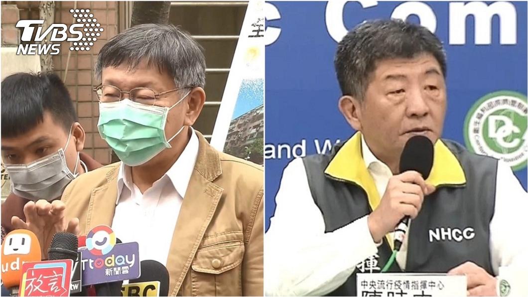 台大醫師許立民認為,雖然現在全民「順時中」,但應該聽台北市長柯文哲提出的這點建議。(圖/TVBS資料畫面) 全民「順時中」 台大醫:此事該聽柯文哲的