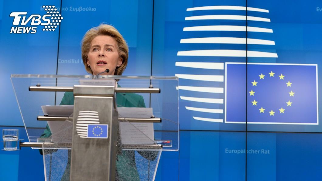 圖/達志影像路透社 蔡總統宣布捐口罩 歐盟主席首度公開感謝台灣
