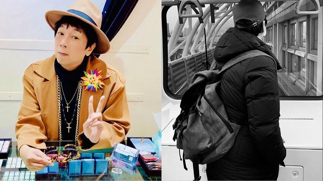 曹西平常搭捷運到店裡幫忙。(圖/翻攝自曹西平臉書) 淚訴「我不丟臉只想活下去」!男星:給點正能量很難嗎