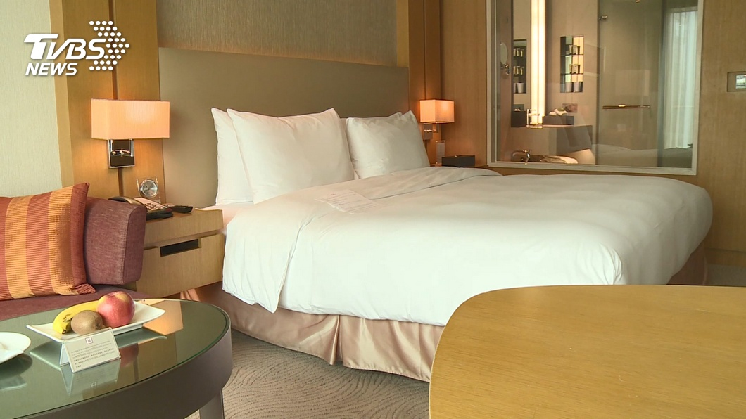 圖/TVBS 連假旺季 中市區飯店住房率平均僅3至5成
