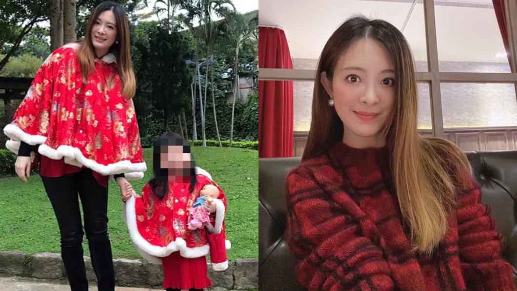 劉真病逝留下4歲女兒。(圖/翻攝自劉真臉書) 辛龍瞞4歲女兒「劉真去旅行」 心理師憂罹此症狀