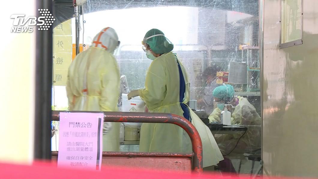 國內新冠肺炎疫情新增變數。(示意圖,非當事人。圖/TVBS) 台灣有多少新冠肺炎隱形感染者? 學者估出驚人數字
