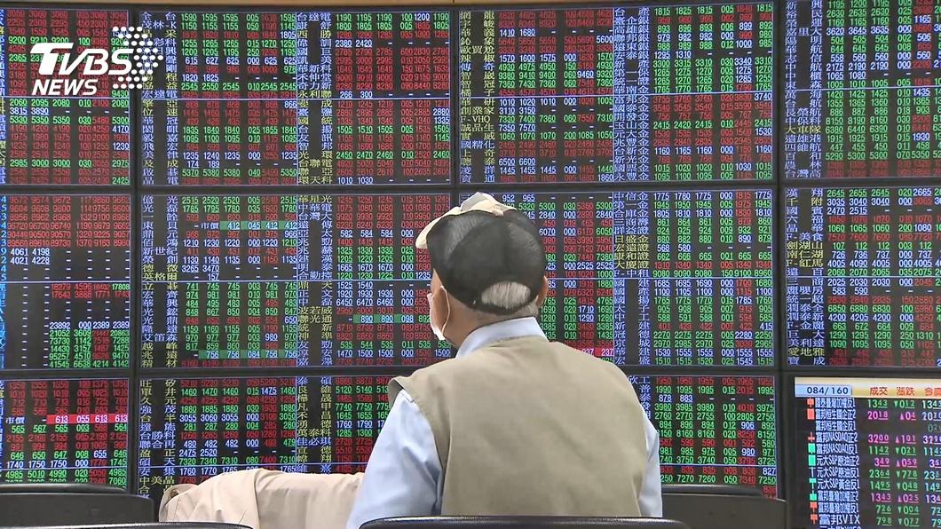 (圖/TVBS資料畫面) 電子疲弱傳產救大盤 台股急拉收小紅守住5日線