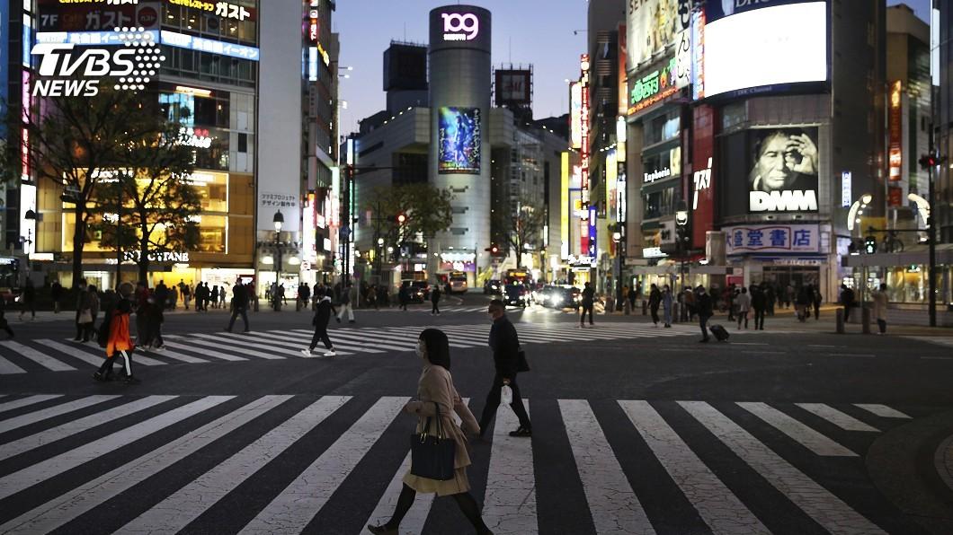圖/達志影像美聯社 5天確診數加倍! 東京恐週三進緊急狀態