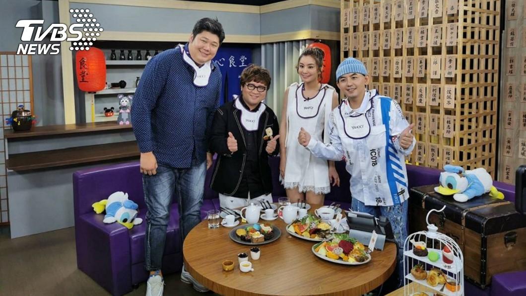圖/TVBS 《食尚玩家》傳職災!莎莎遇好兄弟 男主持人暴肥想割胃