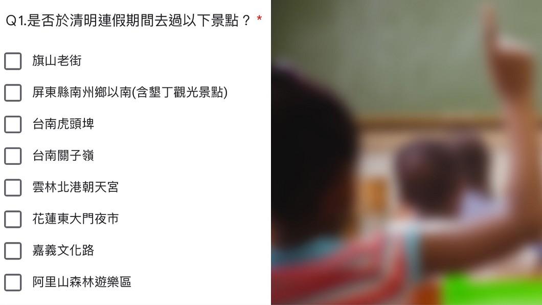 各級學校緊急調查師生旅遊史示意圖,與本文無關。(圖/TVBS) 查連假出遊家長全否認 「一半孩子說有」師傻眼:沒意義