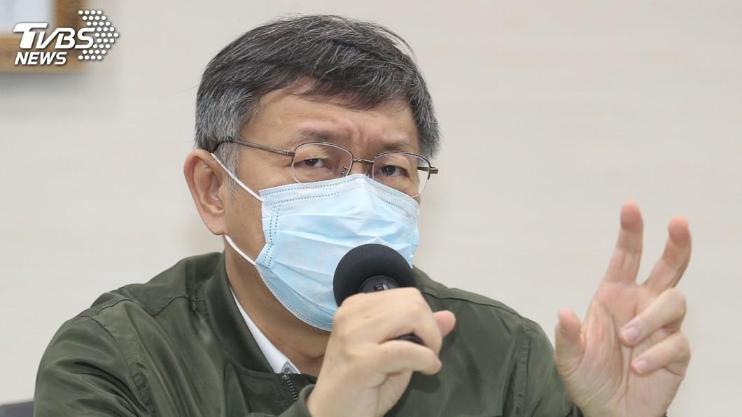 台北市長柯文哲。(圖/中央社資料畫面) 議員要求對罷韓表態 柯文哲重申高雄市民決定